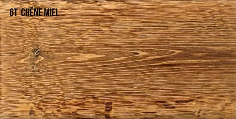 Oxidado madera de roble miel
