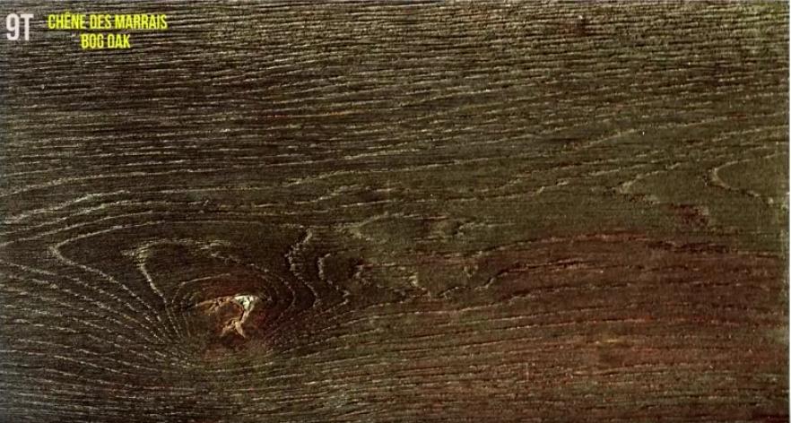 Oxidado madera de roble de marismas